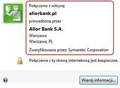 Logowanie - Alior Bank