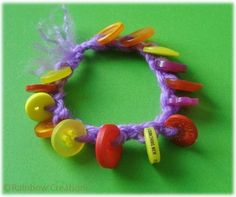 Rainbow Creations - Art and Craft for Children - Blog: Beginning Crochet With Children