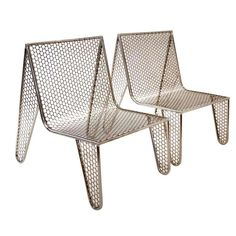 "Set of Four ""Inox"" Chairs by Zanini de Zanine 1"