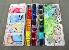 Red Bow Studio: The Best Watercolor Palette Ever