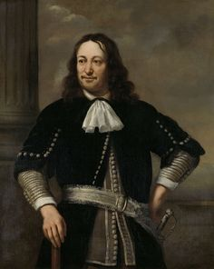 Portrait of a Sea Captain, probably Vice-Admiral Aert van Nes (formerly entitled Portrait of Johan Cornelis van der Hoop), Ferdinand Bol, 1667