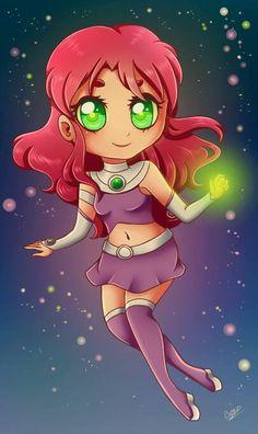 Chibi Starfire!