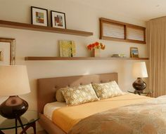 5 Ideas for Decorating Over the Bed - Book Review   Wayfair
