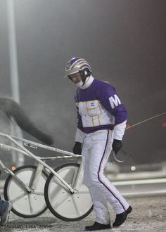Dave Miller, a top driver at The Meadowlands extended his own record for most ten million dollar seasons in harness racing history to 11 in 2012