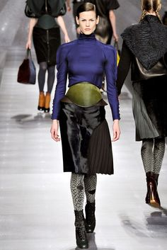 Fendi Fall 2012 Ready-to-Wear Fashion Show - Saskia de Brauw