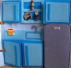 Kitchen quiet book page