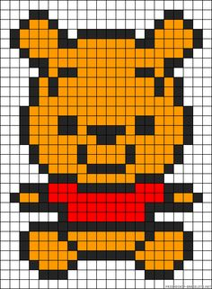 Baby Winnie the Pooh perler bead pattern Baby Winnie the Pooh perler bead patter. Baby Winnie the Pooh perler bead pattern Baby Winnie the Pooh perler bead pattern Source by essli T Perler Bead Templates, Diy Perler Beads, Perler Bead Art, Hama Beads Design, Hama Beads Patterns, Beading Patterns, Cross Stitching, Cross Stitch Embroidery, Modele Pixel Art