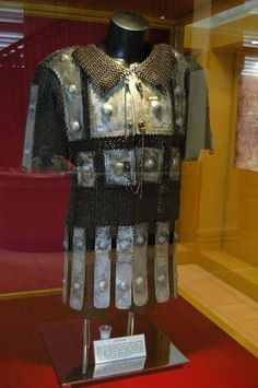 Bugis (Indonesia) mail and plate armor (baju zirah Bugis), Kota Ngah Ibrahim Museum (Perak, Malaysia). The Buginese people are an ethnic group, the most numerous of the three major linguistic and ethnic groups of South Sulawesi, in the southwestern province of Sulawesi, third largest island of Indonesia.