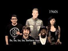 ▶ Pentatonix - Evolution Of Music (LYRICS WITH VIDEO) - YouTube