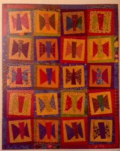 Butterfliez Like Mine Quilt Pattern Pieced Applique