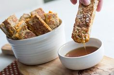Recipe: Pumpkin French Toast Sticks ❤️ by ChicCoolture Pumpkin Bread, Pumpkin Pumpkin, Healthy Pumpkin, Canned Pumpkin, Pumpkin Puree, Breakfast Time, Breakfast Recipes, Skinny Mom Recipes, French Toast Sticks