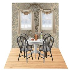 """Elegant Breakfast"" by maddog22 ❤ liked on Polyvore featuring interior, interiors, interior design, home, home decor, interior decorating, Liz Claiborne, Suki Cheema and Menu"