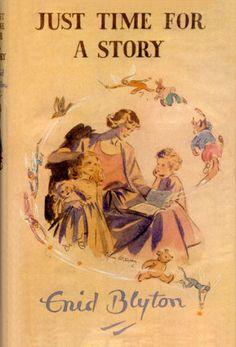 Enid Blyton Just time for a story Enid Blyton Books, The Famous Five, Reading Challenge, Book Cover Art, Vintage Books, Book Publishing, Short Stories, Childrens Books, Nostalgia