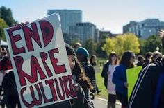 End Rape Culture Sign at Protest