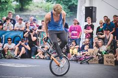 Dez Maarsen in the middle of a crazy switch. BMX Worlds. Ronny Engelmann - photography.