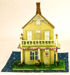 Grandt Line 1/144 scales houses. so in love with the Rosewood!!