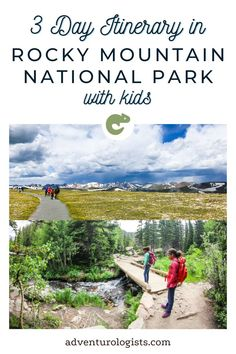 Our family spent three nights camping and hiking in Rocky Mountain National Park, and we had an AMAZING time. We really flew by the seats of our pants with our itinerary, but it turned out so perfectly that we thought we'd share it with you so that other families could also have an amazing time. Rocky Mountain National Park, Camping And Hiking, Rocky Mountains, National Parks, Night, Amazing, Families, Kids, Pants