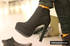 cute black boots  The Shopping Fans