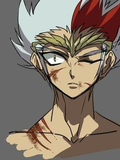 """So I'm a little beat up? Who else cares?"" *People scream ""i do!"" and he smirks*        -Ryuga"