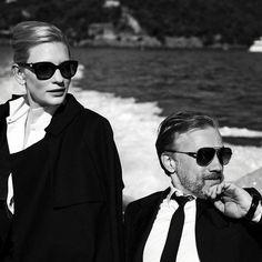 Cate Blanchett & Christoph Waltz