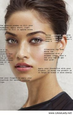 Basic beauty tips for the whole face