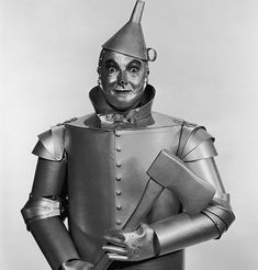 How to Create a Tin Man Costume I did this for my son one year his idea and my craftiness - he got tons of complements :)