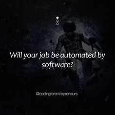 Is your job getting taken over by automation software or are you building that software?  - Let us know in the comments! - Click the link in our bio to create a free account and see what all the hype is about. . . . . . . . #coding #code #6 #python #django #javascript #jquery #swift #angularjs #software #programming #programmer #opensource #engineer #html #css #webapps #developer