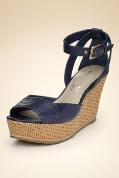 Autograph Leather High Heel Wedge with Insolia®