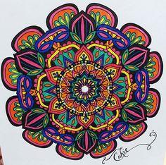 ColorIt Mandalas Volume 2 Colorist: Lisa Popovich #adultcoloring #coloringforadults #adultcoloringpages #mandalas #mandalastocolor