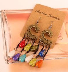 Ear Shaped BOHO Style Earrings - Fashion Accessories Free shipping