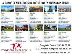 CHOLLOS desde Malaga DIA18 para salida Enero 2013