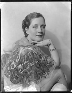 Norma Shearer signed portrait camera negative by Hurrell. Lot 312