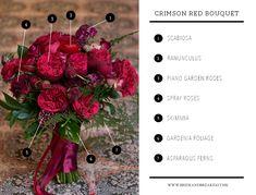 Bouquet Breakdown: Crimson Red Bouquet | http://brideandbreakfast.hk/2016/02/18/crimson-red-bouquet/