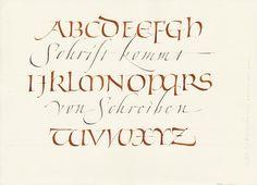 Christopher Haanes Calligraphy
