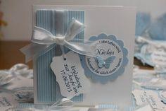 Einladungen zur Taufe und passende Bonbonieren, Bild3,  gebastelt mit Produkten, Stanzen und Stempeln von Stampin' Up!