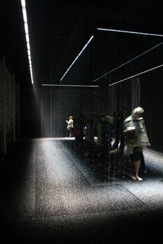"""Luce, tempo, luogo"" by DGT and Toshiba, Milan, Italy"