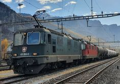 Swiss Railways, Electric Locomotive, Switzerland, 19th Century, Iron, Europe, Levitate