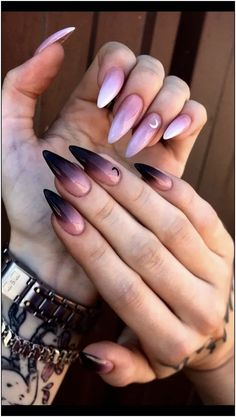 trendy fall nails art designs ideas to look autumnal and charming autumn na. - trendy fall nails art designs ideas to look autumnal and charming autumn na. trendy fall nails art designs ideas to look autumnal and charming autumn nail art ideas 191 Summer Acrylic Nails, Best Acrylic Nails, Best Nail Art, Cool Nail Art, Fall Nail Art Designs, Acrylic Nail Designs, Black Nail Designs, Acrylic Art, Cute Nails