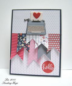 Simon Says Stamp July Card Kit 2014-Banner card   Flickr - Photo Sharing.