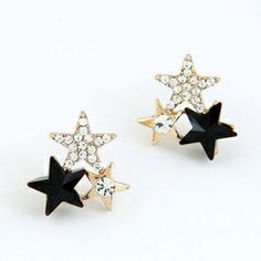 elegant fashion, sweet flowers pearl earrings