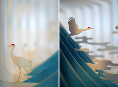 New 360° Laser Cut Paper Story Books by Yusuke Oono