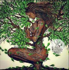 I feel like it mother herself - Modern Black Love Art, Black Girl Art, Art Girl, African American Art, African Art, Wal Art, Black Art Pictures, Goddess Art, Black Artwork