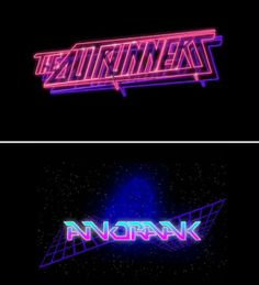 A Graphic Design Revival Retro 80s Font, 80s Logo, 1980s Design, Neon Noir, Neon Words, Affinity Designer, Futuristic Art, Wave Art, Retro Waves