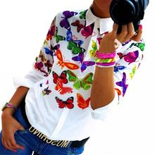 Like and Share if you want this  Women Chiffon Shirt Casual Blouse Fashion Long-sleeve Turn Down Collar Floral Butterflies Printing Tops free shipping LJ3981M     Tag a friend who would love this!     FREE Shipping Worldwide     #Style #Fashion #Clothing    Buy one here---> http://www.alifashionmarket.com/products/women-chiffon-shirt-casual-blouse-fashion-long-sleeve-turn-down-collar-floral-butterflies-printing-tops-free-shipping-lj3981m/