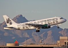 frontier airlines | Frontier Airlines N939FR aircraft at Phoenix - Sky Harbor Int. photo
