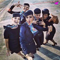 Azul Airlines Stewardesses