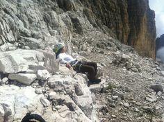 Sleeping on the Dolomiti