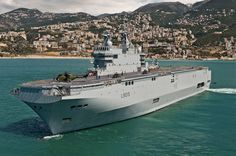 The Landing Helicopter Dock Dixmude (L9015) amphibious assault ship and helicopter carrier of the French Navy was commissioned in December, 2011.