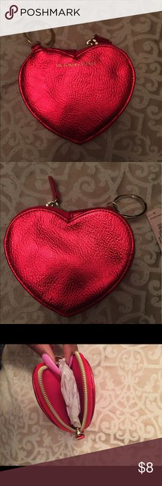 VICTORIA'S SECRET key chain Cute VS little pouch, would make great on a key chain or for whatever use you wish to use it for 🙂 its brand new with tags! PINK Victoria's Secret Other