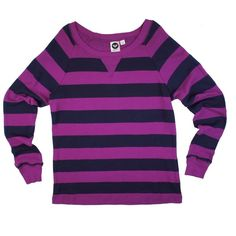 """ROXY Rugby Stripe Pique Sweat Shirt Top This navy blue and violet rugby stripe pique knit sweat shirt too is in mint condition. Features a crew neckline. Made of 100% Cotton. Measures: Bust: 38"""", Total Length: 27"""", Sleeves: 26"""" --- size junior Large. Roxy Tops Sweatshirts & Hoodies"""